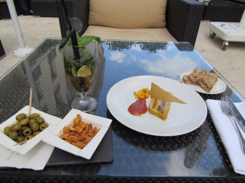 Fois Gras and Champagne Mojito