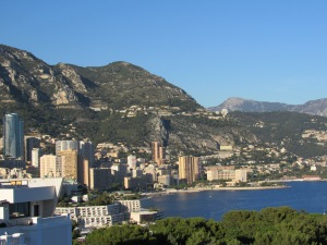 Roof top views of Monaco from the Oceanographic Museum